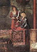 CARPACCIO, Vittore Departure of the Pilgrims (detail) oil painting picture wholesale